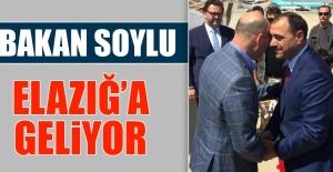 Bakan Süleyman Soylu Elazığ'a Geliyor