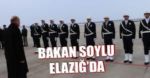 Bakan Süleyman Soylu Elazığ'da