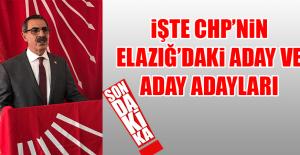 CHPnin Elazığ Belediye Başkan...