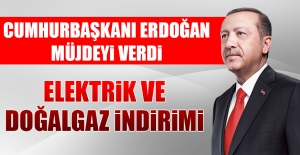 Cumhurbaşkanı Erdoğan'dan İndirim Açıklaması