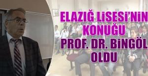 Elazığ Lisesinin Konuğu Prof. Dr. Bingöl Oldu