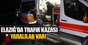 Elazığ Yazıkonak Mevkiinde Trafik Kazası