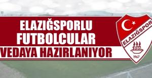 Elazığsporlu Futbolcular Vedaya Hazırlanıyor