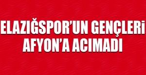 Elazığspor'un Gençleri Afyon'a Acımadı