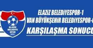 Elaziz Belediyespor 1-0 Van Büyükşehir Belediyespor