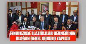 Fındıkzade Elazığlılar Derneği'nin Olağan Genel Kurulu