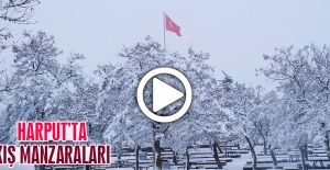 Harput'ta Kış Manzaraları