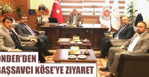 ÖNDER'DEN BAŞSAVCI KÖSE'YE ZİYARET