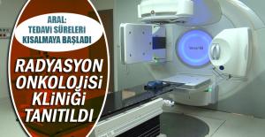 Radyasyon Onkolojisi Kliniği Tanıtıldı