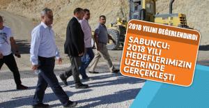Sabuncu: 2018 Yılı Hedeflerimizin Üzerinde Gerçekleşti