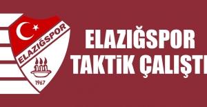 Tetiş Yapı Elazığspor'da Taktik Çalışma