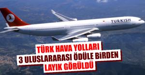 Türk Hava Yolları, 3 Uluslararası Ödüle...