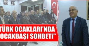 """Türk Ocakları'nda """"Ocakbaşı Sohbeti"""""""
