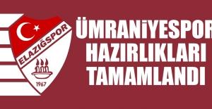 TY Elazığspor'da Ümraniyespor Hazırlıkları Tamamlandı