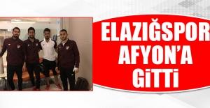 TY Elazığspor'un Afyon Kafilesinde Kaç Futbolcu Yer Aldı?