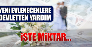 Yeni Evleneceklere Devletten 65 Bin TL Yardım