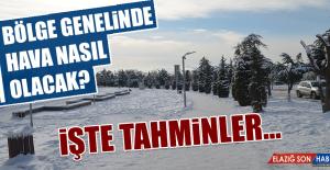 18 Ocak'ta Hava Durumu Nasıl Olacak?