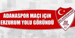 Adanaspor Maçı İçin Erzurum Yolu Göründü