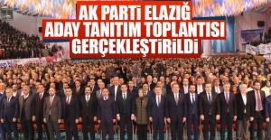 AK Parti Elazığ Aday Tanıtım Toplantısı