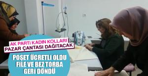 AK Parti Kadın Kolları Pazar Çantası Dağıtacak