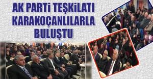 AK Parti Teşkilatı, Karakoçanlılarla Buluştu