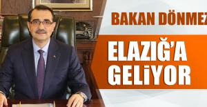 BAKAN FATİH DÖNMEZ ELAZIĞ#039;A...