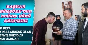 Başkan Ramazan Gürgöze'den Doğum Günü Sürprizi