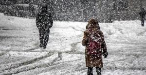 Bingöl'de eğitime Salı Günü kar engeli