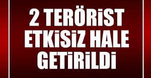 DİYARBAKIR'DA Kİ TERÖRİSTLER ETKİSİZ HALE GETİRİLDİ