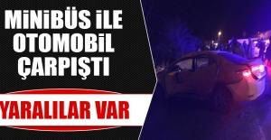 Elazığ -Tunceli Karayolunda Trafik Kazası