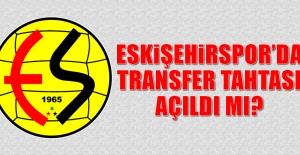 Eskişehirspor'da Transfer Tahtası Açıldı Mı?