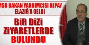 MSB Bakan Yardımcısı Alpay, Elazığ'a Geldi