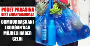 Poşet Parasına Dert Yanan Vatandaşa Cumhurbaşkanı...