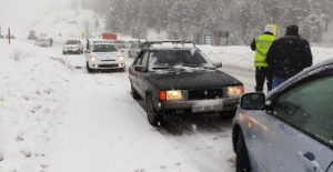 Seydişehir-Antalya kara yolu ulaşıma kapandı