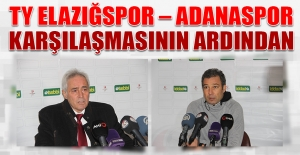 TY Elazığspor – Adanaspor Karşılaşmasının Ardından