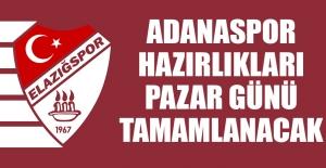 Adanaspor Hazırlıkları Pazar Günü Tamamlanacak