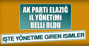 AK Parti Elazığ İl Teşkilatının...