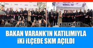AK Parti İki İlçede Bakan Varank'ın Katılımıyla SKM Açtı