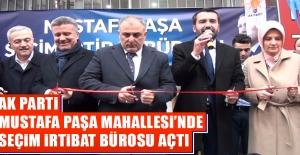 AK Parti Mustafa Paşa Mahallesinde...