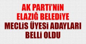 AK Parti#039;nin Elazığ Belediye...