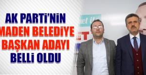 AK Parti'nin Maden Belediye Başkan Adayı Belli Oldu