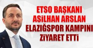 Asilhan Arslan, Elazığspor Kampını Ziyaret Etti