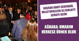 Erol ve Şekerdağ, Yazıkonak Beldesinde...