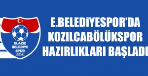 E.Belediyespor'da Kozılcabölükspor Hazırlıkları Başladı