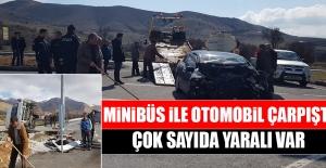 Elazığ-Pertek Yolunda Trafik Kazası! Çok Sayıda Yaralı Var