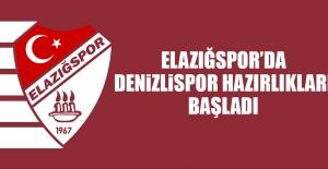 Elazığspor'da Denizlispor Hazırlıkları Başladı
