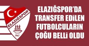 Elazığsporda Transfer Edilen Futbolcuların...