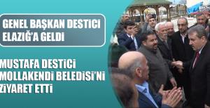 Genel Başkan Mustafa Destici, Elazığ'a Geldi