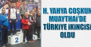 Harun Yahya Coşkun, Muaythai'de Türkiye İkincisi Oldu