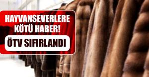HAYVANSEVERLERE KÖTÜ HABER! ÖTV SIFIRLANDI